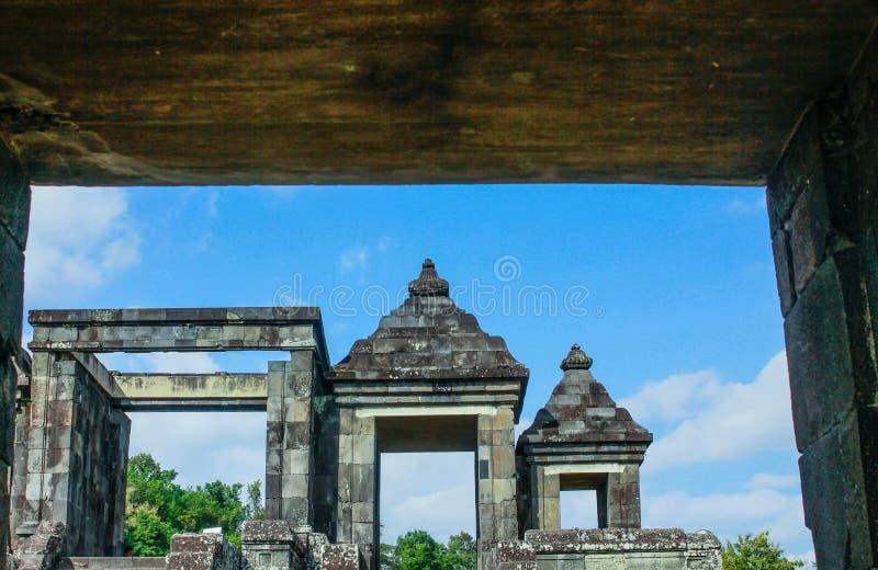 Het ontwerpen boko van de tempelkoningin stock fotografie
