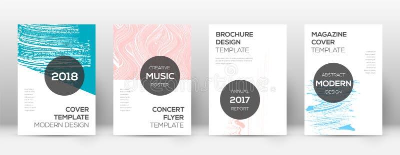 Het ontwerpmalplaatje van de dekkingspagina Moderne brochurelay-out vector illustratie