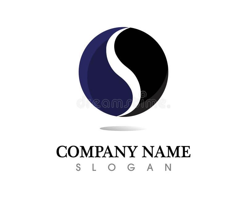 Het ontwerpvector van het bedrijfs collectieve brievenp embleem stock illustratie