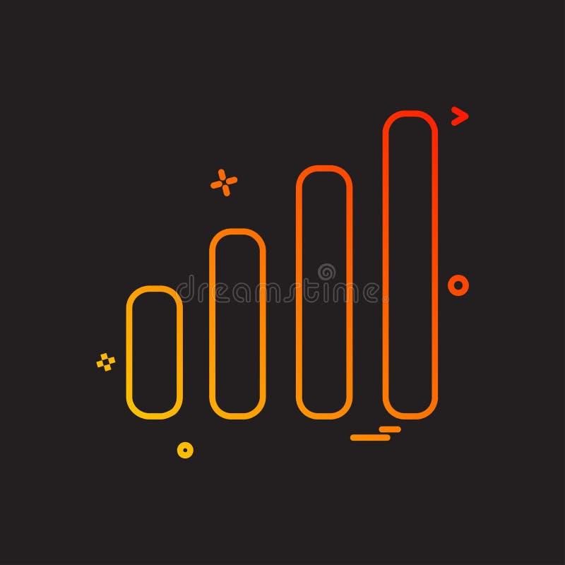 Het ontwerpvector van het signalenpictogram vector illustratie