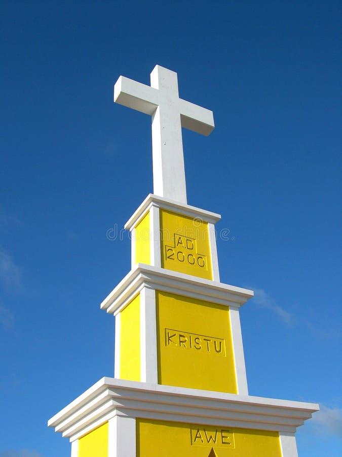Download Het Ontzag van Kristu stock afbeelding. Afbeelding bestaande uit kruis - 288185