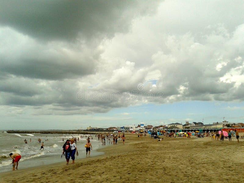 Het onweer komt, Santa Clara, Buenos aires, Argentinië stock fotografie