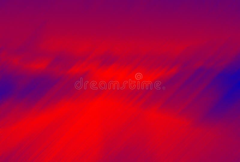Het onweer van de brand stock illustratie