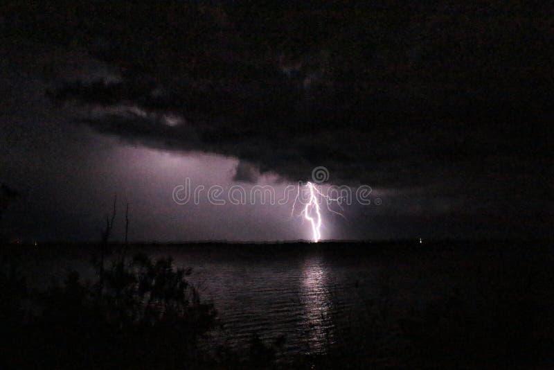Het onweer van het doradomeer van Gr stock foto