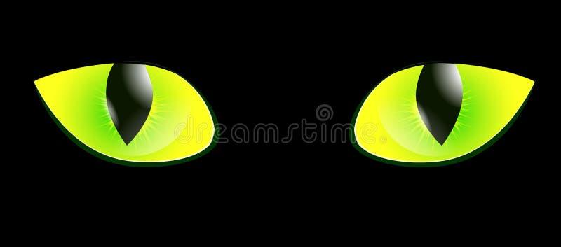 Het oog van de kat vector illustratie