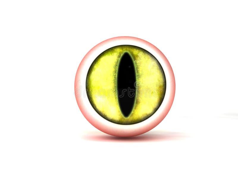 Het oog van het monster vector illustratie