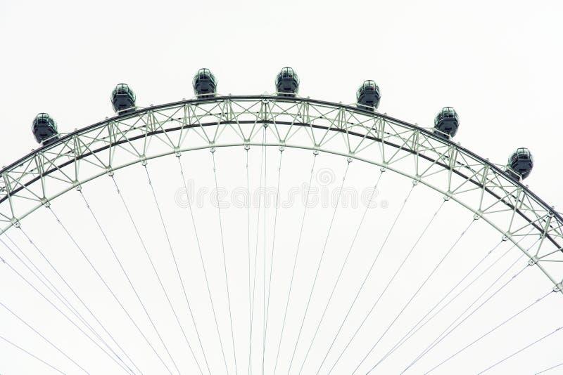 Het Oog van Londen, Groot-Brittannië stock fotografie