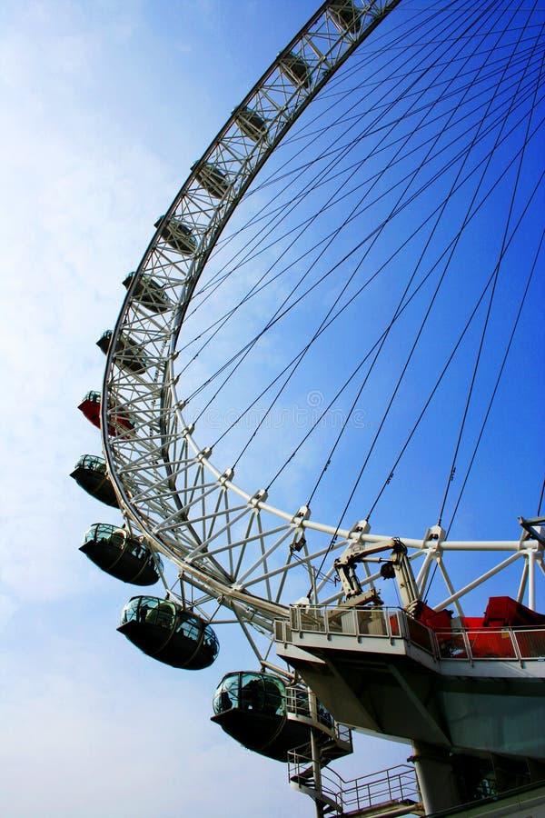 Het oog van Londen, Londen, Engeland stock fotografie