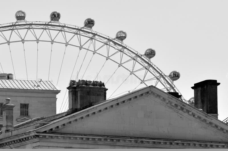 Het Oog van Londen - Londen het UK stock foto's