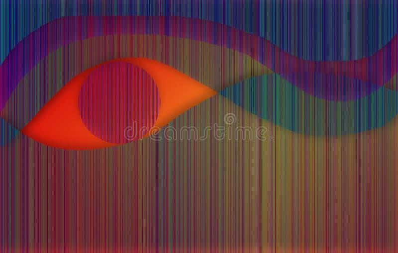 Het Oog van Ra vector illustratie
