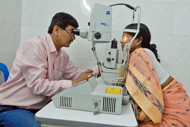 Het oogziekenhuis stock foto