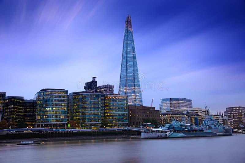 Het het Oorlogsschipmuseum van Londen royalty-vrije stock foto's