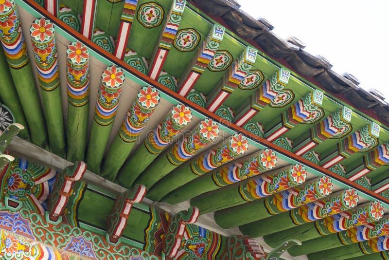Het Oostelijke Paleis Changdeokgung van Seoel in Seoel royalty-vrije stock foto's
