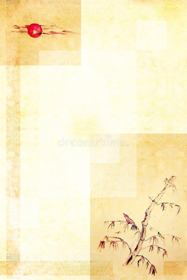 Het oosten achtergrond-4 stock illustratie
