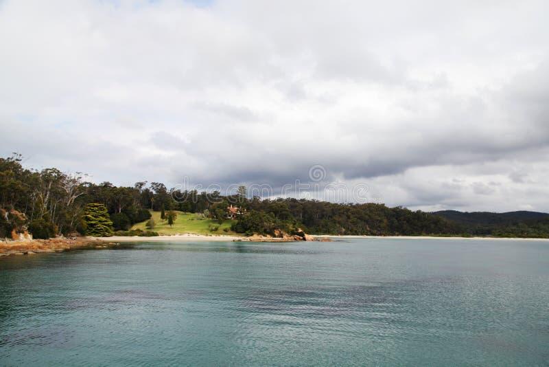 Het oosten Boyd Bay @ Eden NSW Australië stock foto's