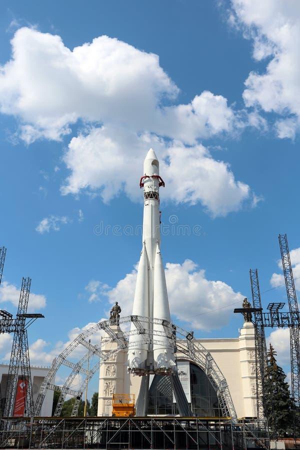 Het Oosten van de raket royalty-vrije stock afbeelding