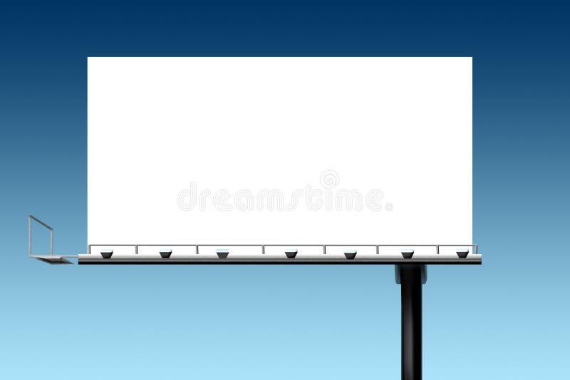 Het op de markt brengende aanplakbord van het verkoop openluchtteken royalty-vrije illustratie