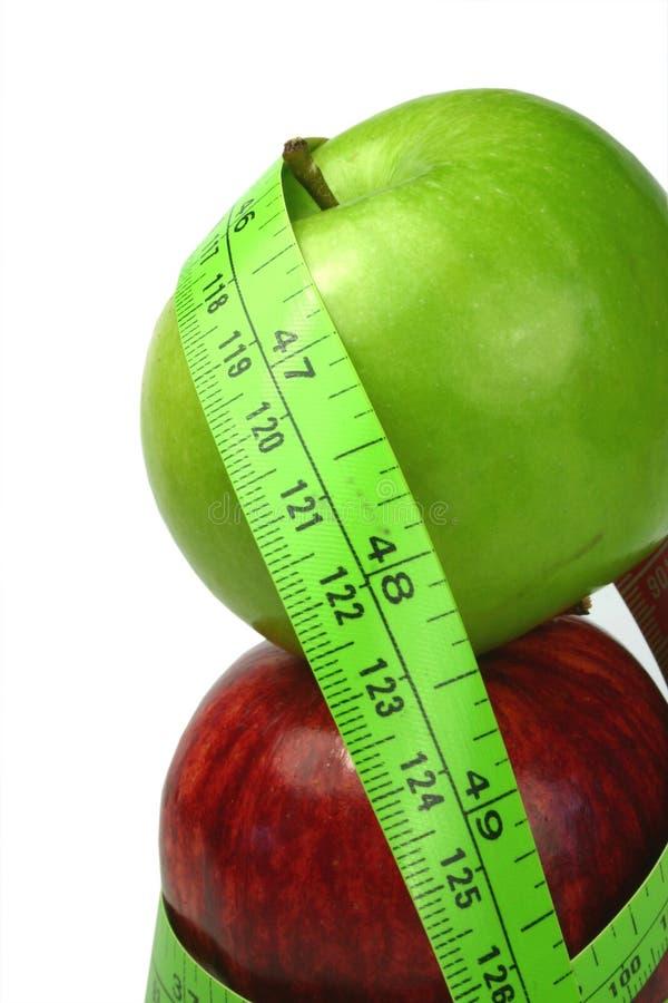 Download Het Op Dieet Zijn Van De Appel Stock Afbeelding - Afbeelding bestaande uit dieet, evenwichtig: 297375