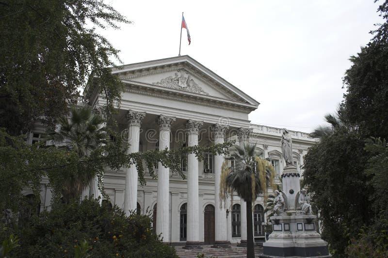 Het openbaar gebouw Santiago doet Chili royalty-vrije stock foto