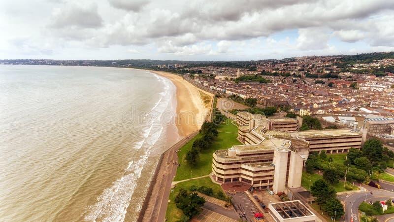 Het Openbare Centrum van Swansea royalty-vrije stock foto's