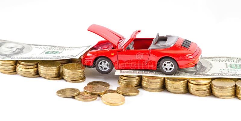 Het openen van zaken op reparatie en onderhoud van auto's stock foto's