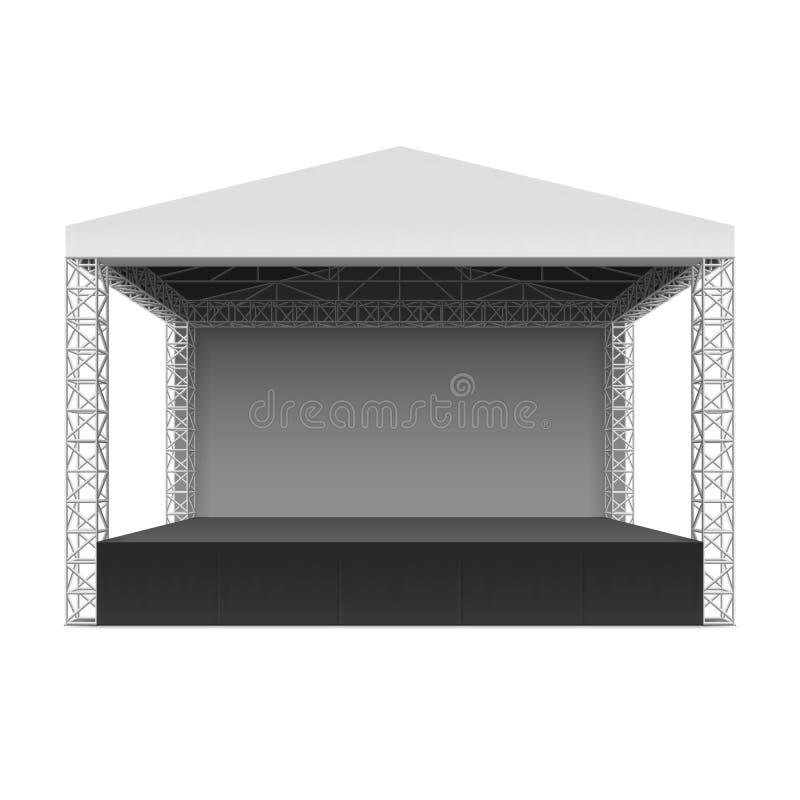 Het openlucht Stadium van het Overleg vector illustratie