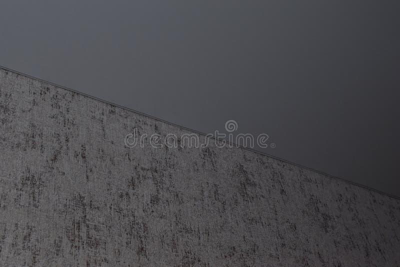 Het opgeschorte plafond en de hoek van het plafond stock afbeeldingen