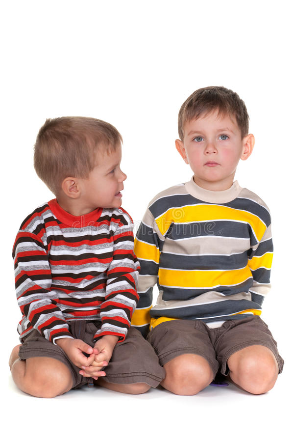 Het oplossen van kinderachtige problemen stock foto's