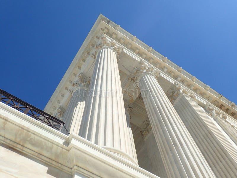 Het opperste hof van Verenigde Staten stock afbeelding