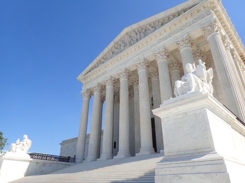 Het opperste hof van Verenigde Staten royalty-vrije stock foto's