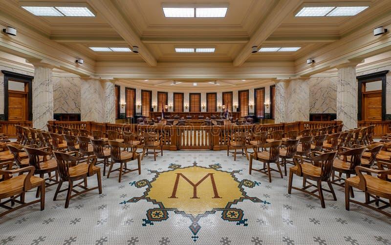 Het Opperste hofkamer van de Mississippi stock afbeelding