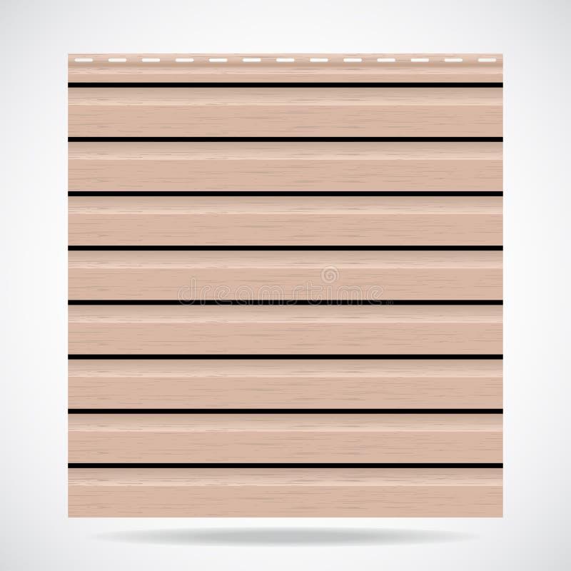 Het opruimen de beige kleur van het textuurpaneel vector illustratie