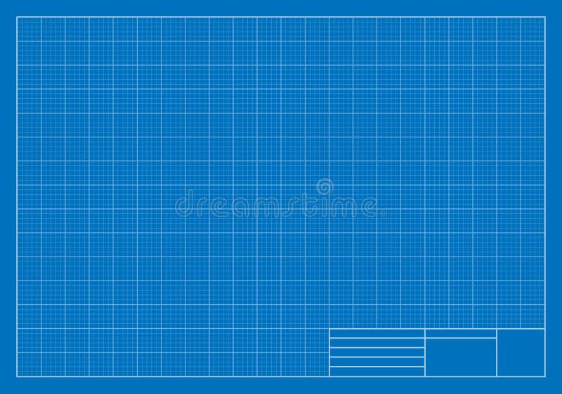 Het opstellen van Blauwdruk, Net, Architectuur royalty-vrije illustratie