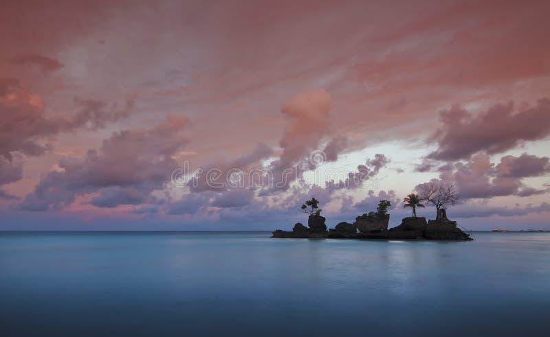 Het Oriëntatiepunt van Boracay royalty-vrije stock foto's
