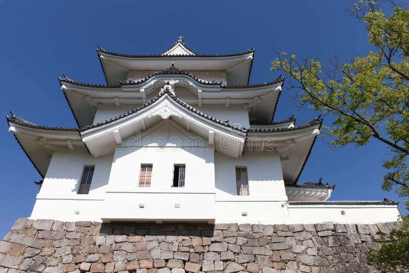 Het originele Ninja-kasteel van Iga Ueno stock foto