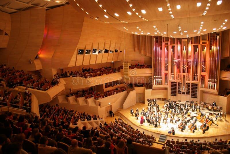 Het orkest van de symfonie stock foto's