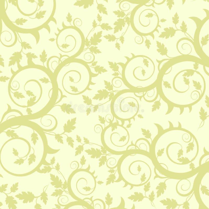 Het ornament van bloemen (behang) vector illustratie