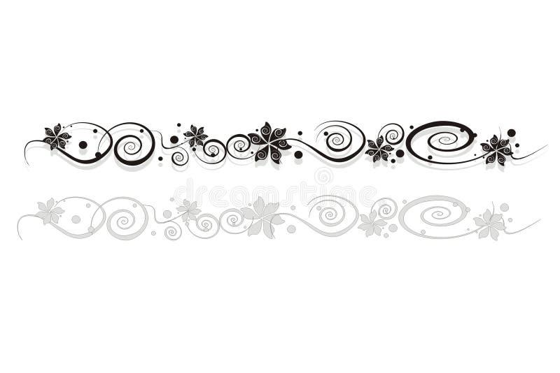 Download Het ornament van de bloem stock illustratie. Illustratie bestaande uit hoek - 10781888