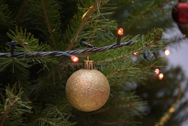 Het ornament van de kerstboom royalty-vrije stock foto