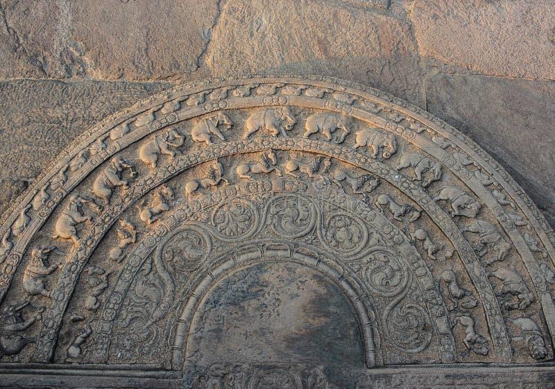 Het ornament van de steen royalty-vrije stock afbeeldingen