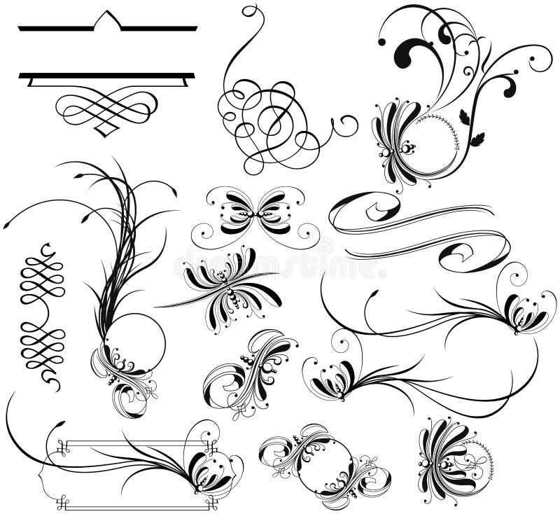Het Ornament van het ontwerp royalty-vrije illustratie