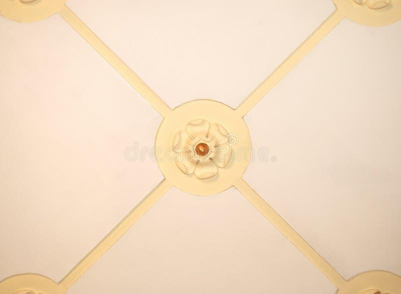 Het ornament van het plafond stock afbeelding