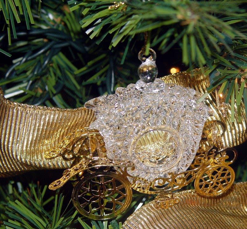 Het Ornament van het Vervoer van Cinderella royalty-vrije stock afbeelding