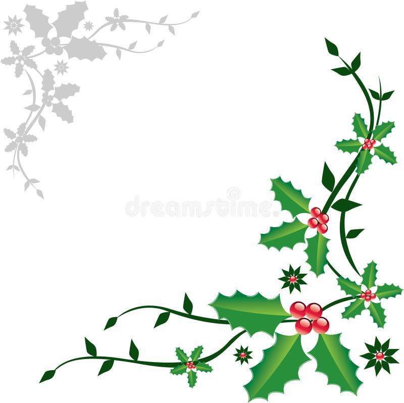 Het ornament van Kerstmis stock illustratie