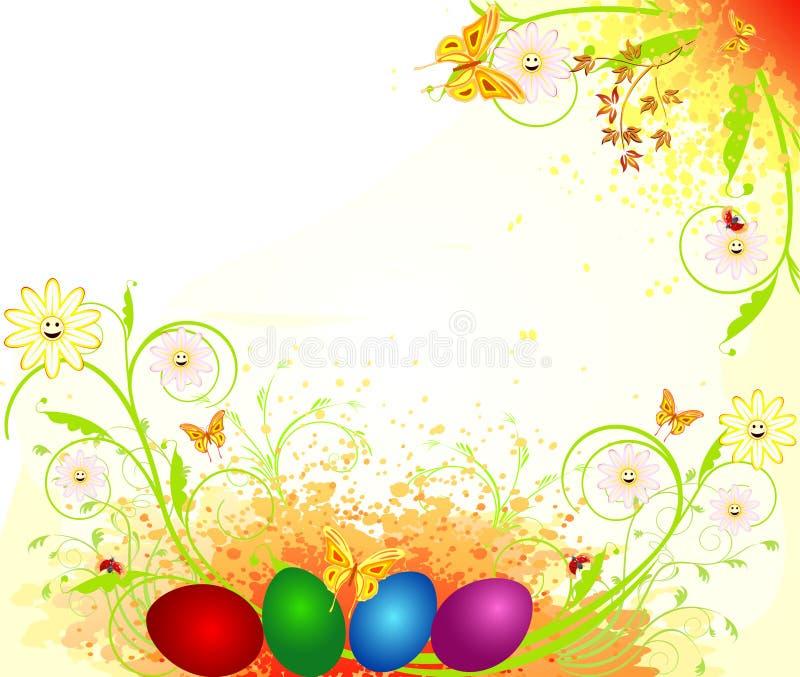Het ornamentvector van Pasen