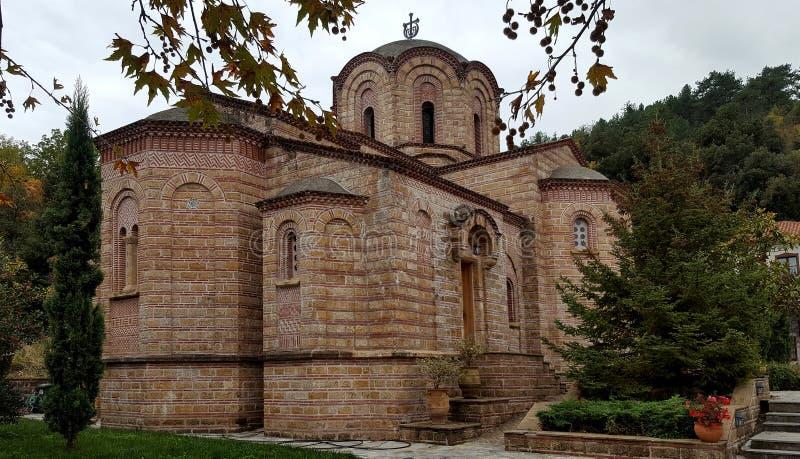 Het Orthodoxe Klooster van Heilige Dionysios royalty-vrije stock afbeeldingen