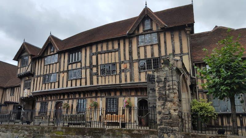 Het oud ziekenhuis in warwick royalty-vrije stock afbeeldingen