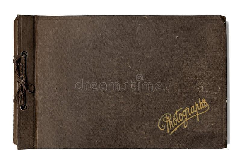 Het oude Album van de Foto royalty-vrije stock afbeeldingen