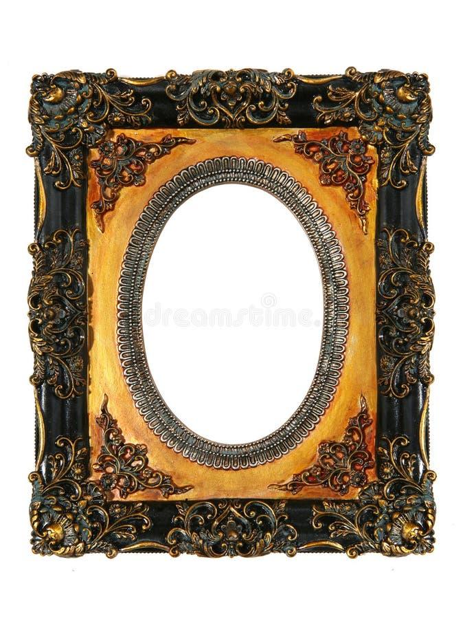 Het oude Antieke Frame van de Foto stock afbeeldingen