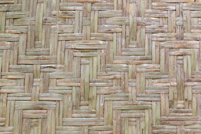 Het oude Bamboe stock afbeelding